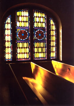 """St Lukes Glass Window"""