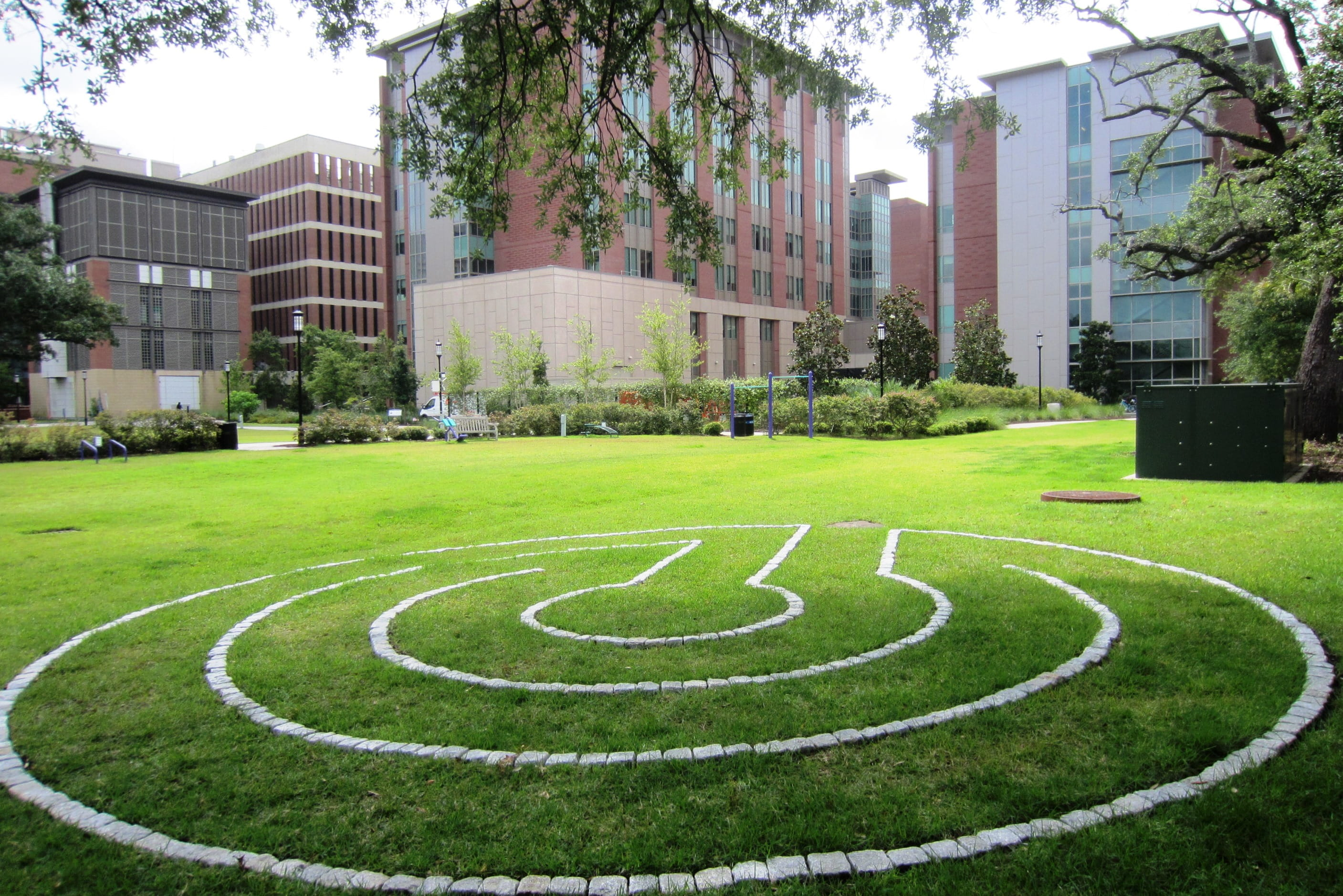 Meditation Labyrinth at the Fitness Park