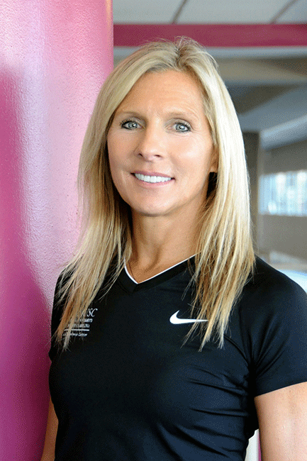Trainer Alicia O'Connor