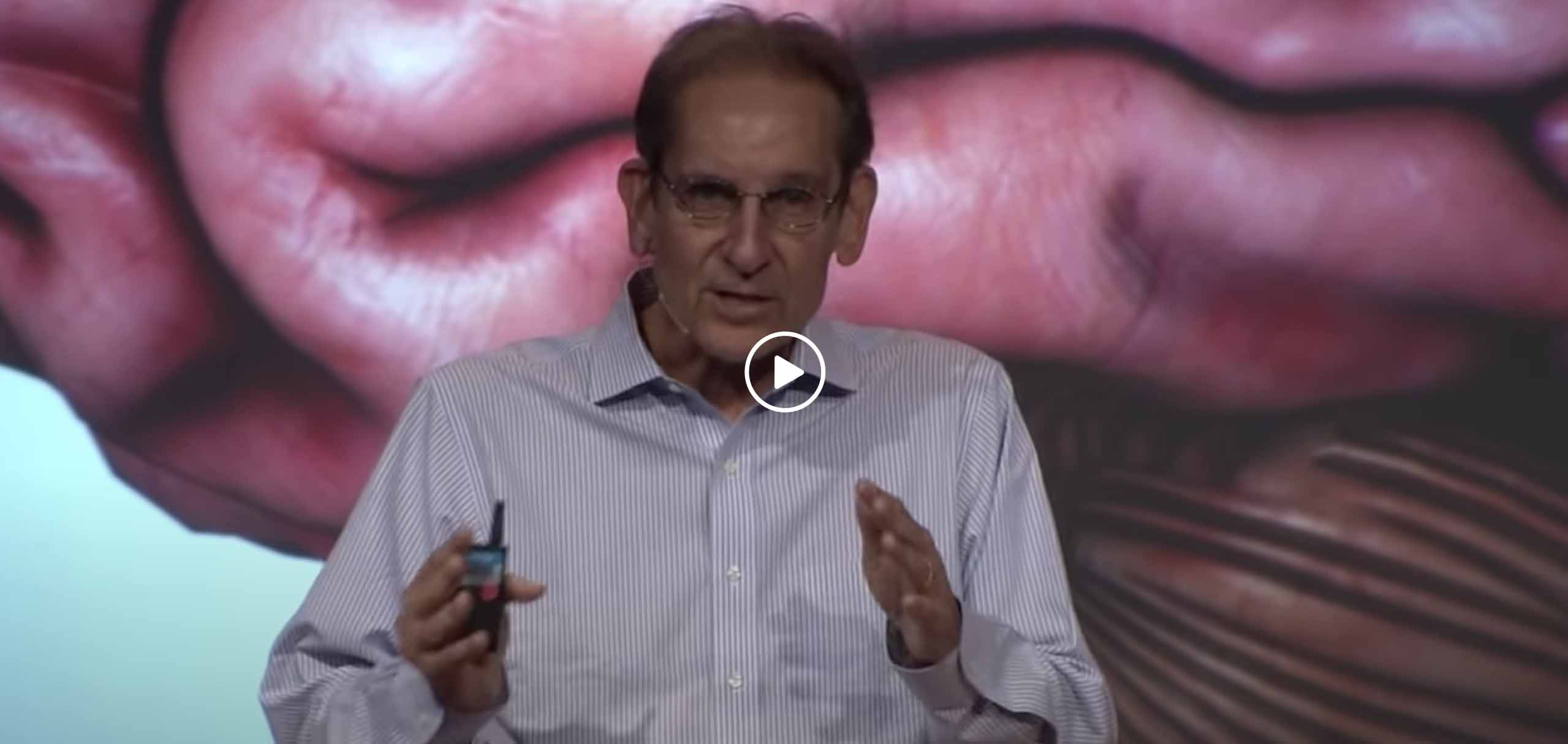 John J. Ratey giving a TED Talk.