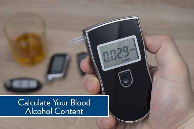 calculate blood alcohol content
