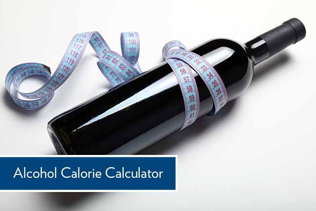 alcohol calorie calculator