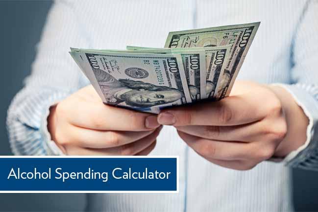 alcohol spending calculator