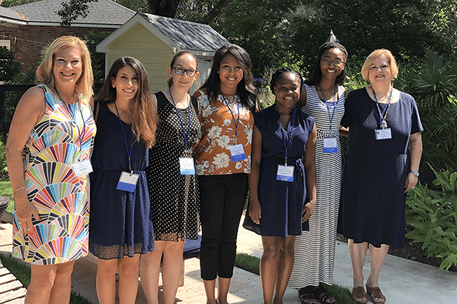 Women's club scholarship winners 2019