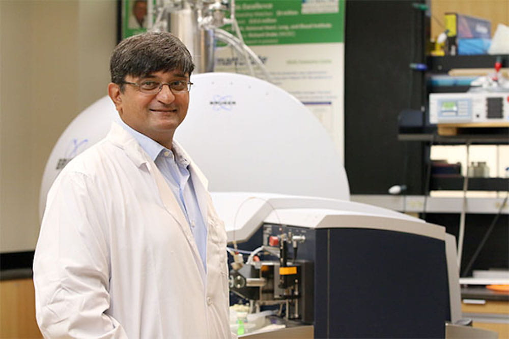 Dr. Anand Mehta hopes to use biomarkers
