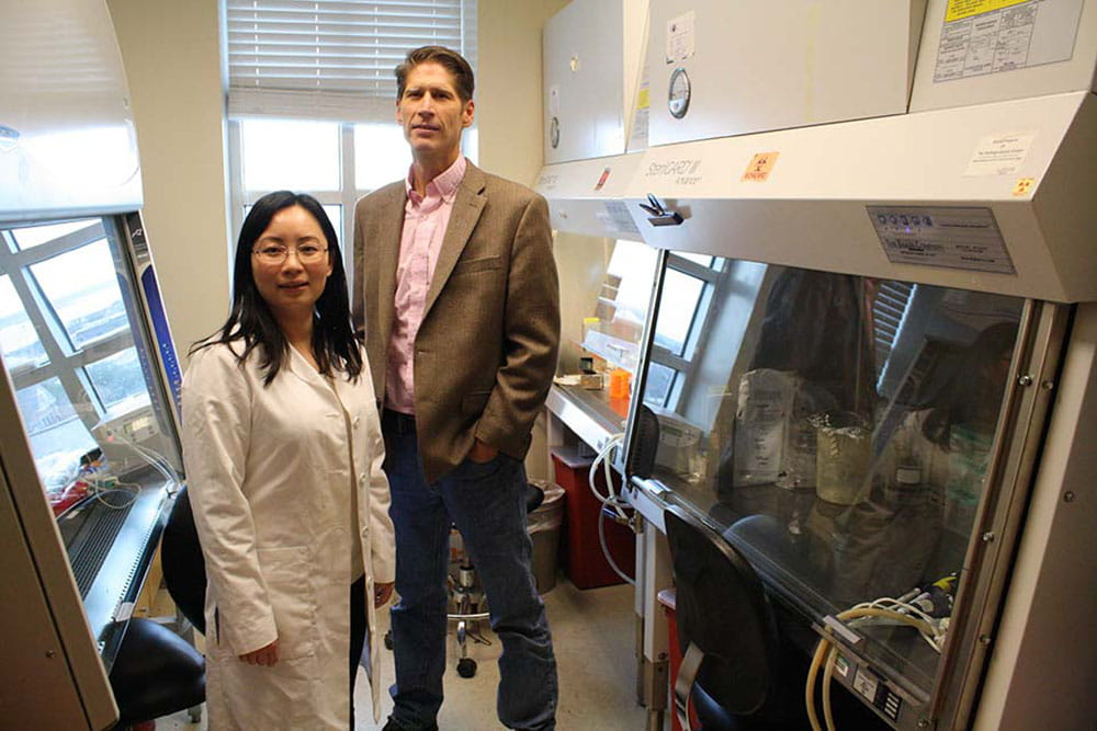 Dr. Yiwen Bu and Dr. J. Alan Diehl