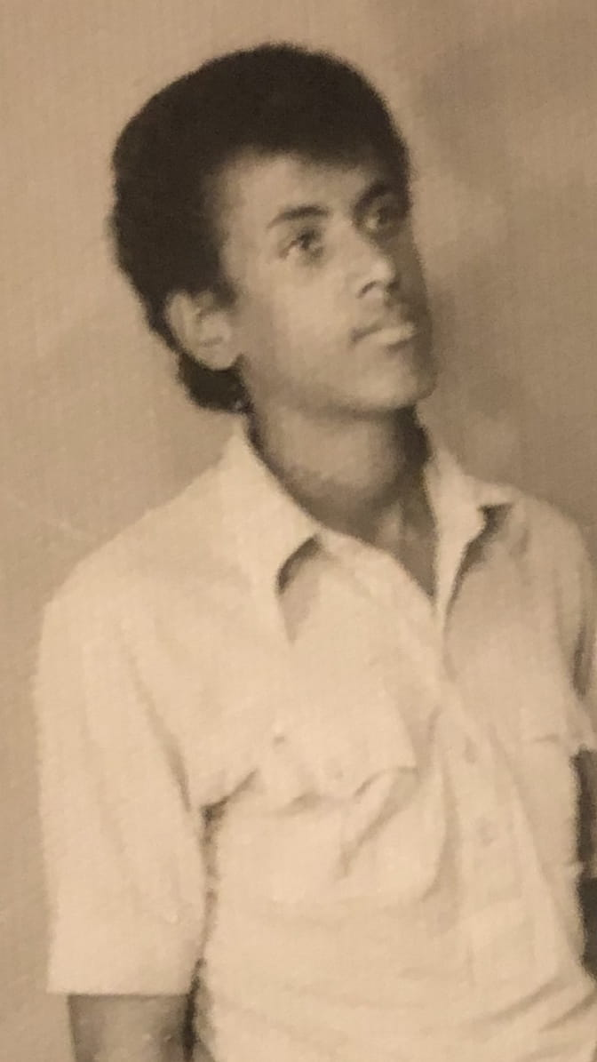 Dr. G as a teenager