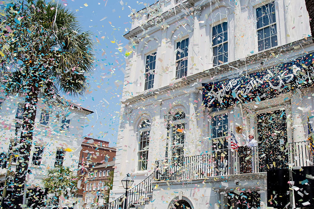 Spoleto Festival USA kicks off I front of Charleston's City Hall on May 24, 2019.
