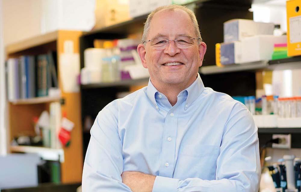 Dr. Mark Denison of Vanderbilt University Medical Center in his laboratory.